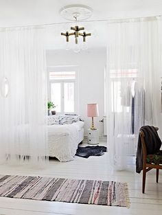 Diy Room Divider Ideas: Diy Ideas Room Divider With Wood Seat ~ gozetta.com Bedroom Inspiration