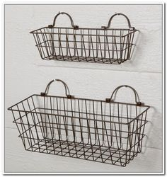 Hanging Wire Baskets For Storage