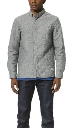 Penfield Heyden Quilted Chambray Long Sleeve Shirt