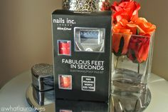 Nails Inc and Micro Pedi Fabulous Feet in Seconds Electronic Foot File Kit#mermaid #nails #nailpolish #nailvarnish #nailcolour #manicure #pedicure #fish #beautytherapist #zoya #sea #ocean #makeup #perfume #skincare #designer #highstreet #face #facial #beautiful #hair #perfection #youth #young #younger #smooth #transform #bodycream #wishlist #showergel #fragrance #girl #girlie #girly #woman