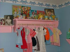 Guest Room: More Vintage Baby Clothing & Old Toys by cwalsh415, via Flickr