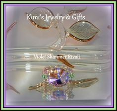 Ring   Lori Love Violet Shimmer by kidalski on Etsy, $40.00