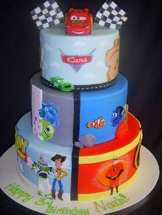Pixar Cake!