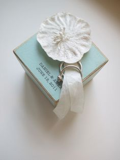 ring bearer block with six-sides of available personalization. I spotted this ring bearer block over at Jennifer Raichman and love how each is handmade. Ring Bearer Pillows, Ring Pillow, Sapphire Blue Weddings, Wedding Details, Wedding Ideas, Wedding Inspiration, Mod Podge Crafts, Something Blue Wedding, Whimsical Wedding