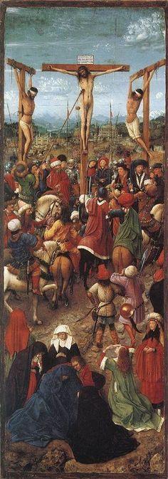 Crucifixion, Jan van Eyck