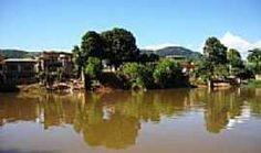 Bom Jesus do Norte - Rio Itabapoana,vista para Bom Jesus do Norte-Foto:Thivixbr