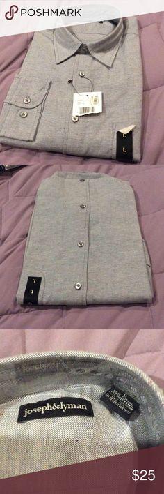 New mens button down shirt New long sleeve button down mens shirt joseph & Lyman Shirts Casual Button Down Shirts