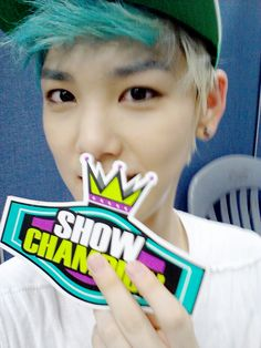 Zelo i love your blue hair!!!
