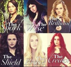 Girls From Books -Hunger Games -Percy Jackson -Harry Potter -Twilight -Divergent -Mortal Instruments