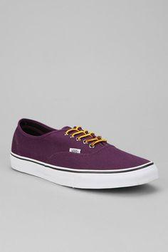 Vans Canvas Boot Lace Authentic Sneaker
