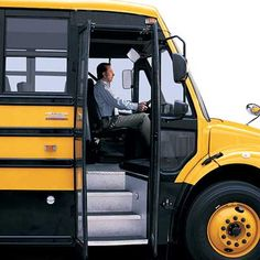 Thomas Built Buses >> 18 Best Daimler Trucks Thomas Built Images School Buses Back To