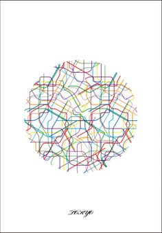 ... visualizing a subway map ...
