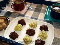 Rochers feuilletine au chocolat - Recette rochers feuilletine