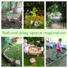 natural play space inspiration at early play