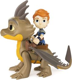 Amazon.com: Dragons DreamWorks Rescue Riders, Dak and Cutter, and Viking Figures with Sounds and Phrases: Toys & Games Dragons Dreamworks, Vikings, Create Your Own Adventure, Dragon Trainer, Funny Toys, Netflix Series, How To Train Your Dragon, Tigger, Kids Toys