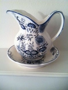 Beautiful Vintage Water Pitcher
