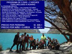 TOUR HUARAZ  3 DIAS – 2 NOCHES, Operadores especializados en la organización de PROGRAMA DE TOURS EN HUARAZ ANCASH PERU, contamos con un equipo de profesionales de experiencia laboral en el campo del Turismo Convencional – TOUR - BUS, cuyo objetivo principal es brindar calidad, seguridad y garantía en todos nuestros servicios, de esa manera, cumplir con las expectativas y exigencias del Cliente. Nosotros le ayudaremos en la organización de su Programa de Tours en Perú