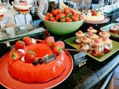 2018 딸기뷔페 일정 가격 총정리 Pudding, Desserts, Food, Tailgate Desserts, Deserts, Custard Pudding, Essen, Puddings, Postres
