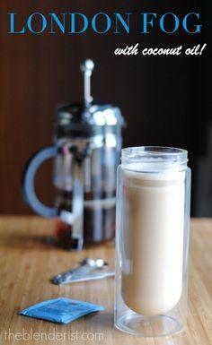 The Blenderist | Coconut Oil London Fog Latte | http://theblenderist.com/london-fog-latte/