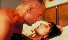 Pulp Fiction - Bruce Willis and Maria de Medeiros