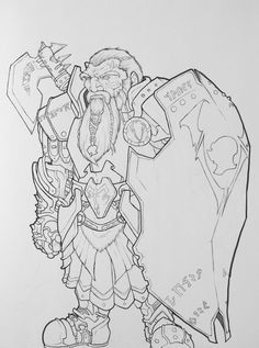 Dwarf by Eppy.deviantart.com on @DeviantArt