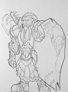 Dwarf by Eppy.deviantart.com on @DeviantArt