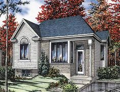 Bungalow House Plan 48008 Elevation