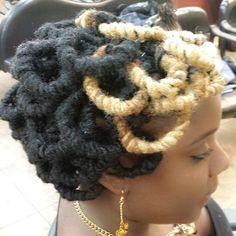 Pipe Cleaner Loc Curls
