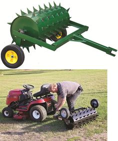 Model Tow Behind Spike Aerator for sale online Landscaping Tools, Outdoor Landscaping, Accessoires Quad, Garden Tractor Attachments, Atv Attachments, Lawn Aerators, Agricultural Implements, Zero Turn Lawn Mowers, Tractor Accessories