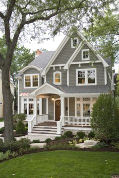 Siena Custom Builders' original design that we built in Naperville, IL and now the most popular exterior ever!