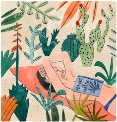 Illustration Bodil Jane Illustrates Botanical Rooms I Want to Live In