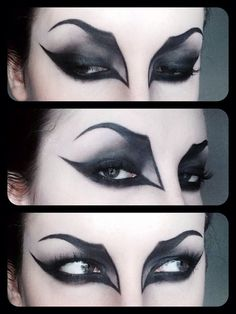 great witch eye make-up
