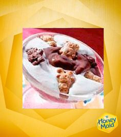 For a delicious and easy parfait, try this S'mores parfait made with Teddy Grahams. A perfect dessert treat!
