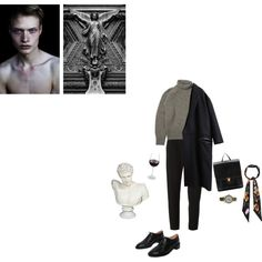 Francis Abernathy by unwriteable on Polyvore featuring DAMIR DOMA, Carven, Rochas, Hstyle and Rockins