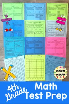 Fourth Grade Common Core Math Test Prep (All Standards Bundle): Help your students prepare for testing! There are multiple choice, short answer, and longer extended performance tasks. You can pick from traditional multiple choice or multiple selection (multiple choice questions with one or more correct answer choices). Wow!