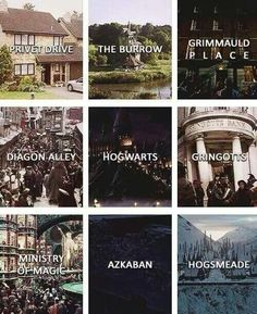 Places in Harry Potter