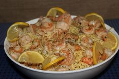 """Shrimp and Pasta 