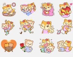Pufft & Cherry Sticker on Behance