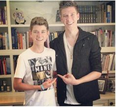 Collins Key and his little brother......they've got some good genes (;