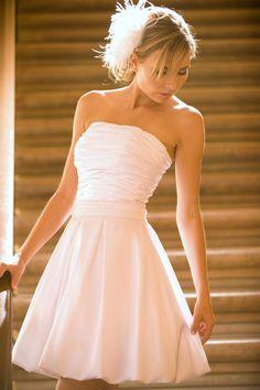 Short and Sweet - Mini Length Wedding Dress