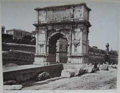 Arco di Tito 1880