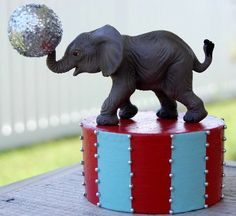 Circus party decor, easy to make