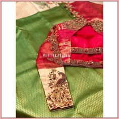 Blouse Designs Silk, Bridal Blouse Designs, Blouse Patterns, Hand Embroidery, Embroidery Designs, Work Blouse, Design Trends, Sarees, Blouses
