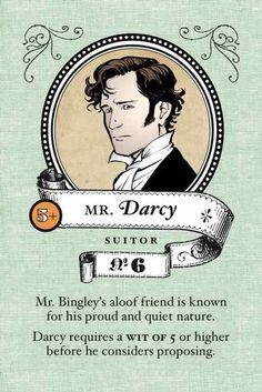 The Mr. Darcy card