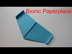 How To Make A Bionic PaperPlane That Flies Like A Bird - YouTube