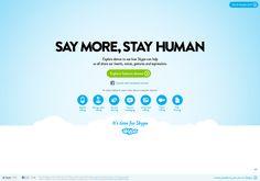 http://itstimefor.skype.com via @url2pin