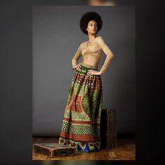 Maxi-Olive imprimé africain
