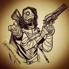 Osiris Hunter by KobOneArt on DeviantArt destiny