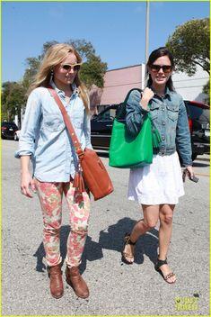 Rachel Bilson & Kristen Bell: Shopping Gal Pals! | rachel bilson kristen bell shopping beverly hills 02 - Photo