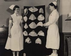 Vintage Nursing caps.